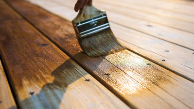 How To Stain Your Wood Deck In 4 Easy Steps